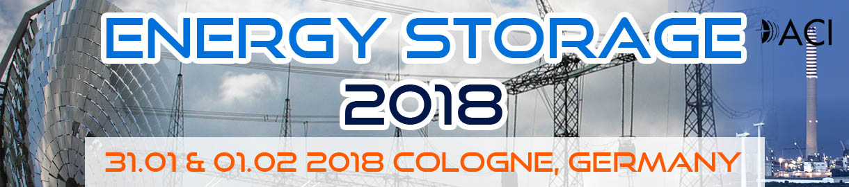 January 31u2013February 1, 2018: Energy Storage 2018, Cologne