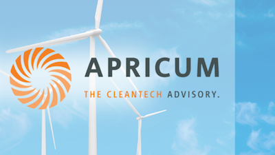 Open position at Apricum: Consultant