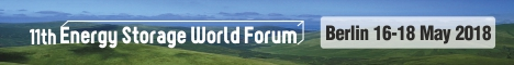 Join Apricum at the 11th Energy Storage World Forum in 2018