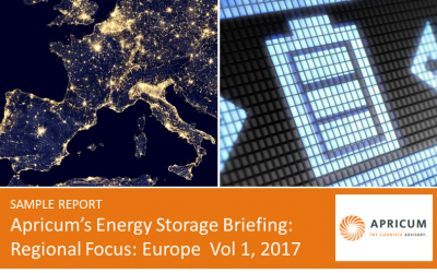 Apricum launches new energy storage market briefing